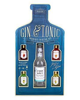 Mix and Match Gin and Tonic Mixers