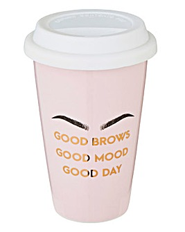 Brows Travel Mug