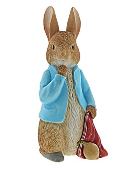 Peter Rabbit Statement Figurine
