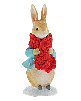 Peter In a Festive Scarf Figurine