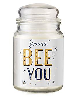 Bee You Candle Jar