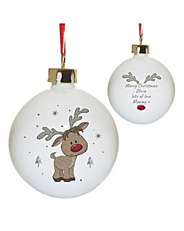 Little Reindeer Bauble