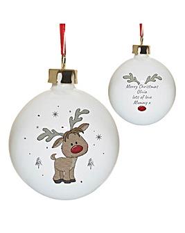 Little Reindeer Bauble