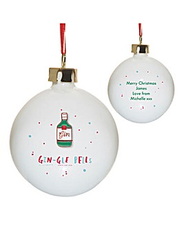 HotchPotch Gin-gle Bells Bauble