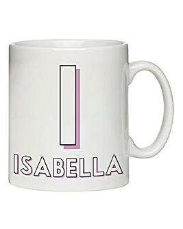 Personalised Initial Mug