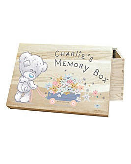 Personalised Me To You Memory Box