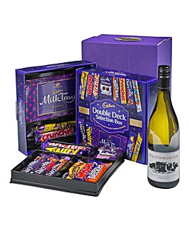 Cadbury Selection & White Wine