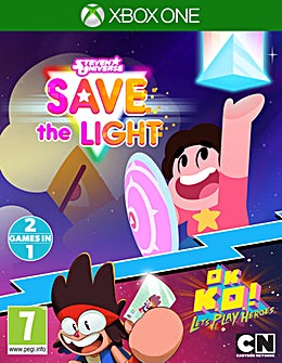 Steven Universe and OK K.O 2 Game Pack