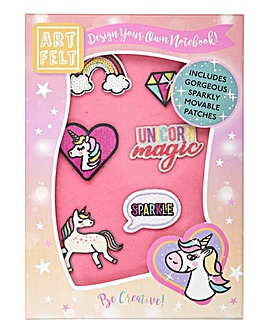 Artfelt Unicorn A5 Notebook