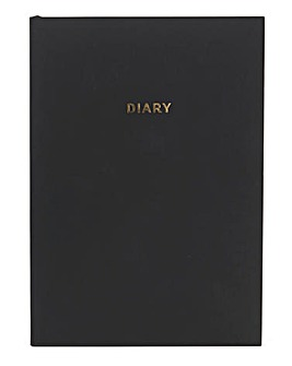 Colourblock Undated Diary