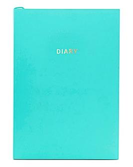 Colourblock Undated Diary