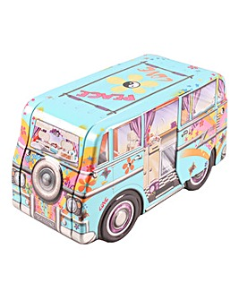 Red Campervan Shortbread Tin