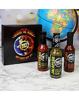 Around The World Hot Sauce Box