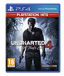 Uncharted 4 A Thiefs End HITS Range PS4