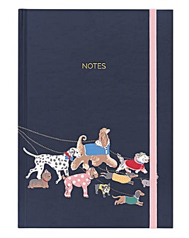Cath Kidston Small Park Dogs A5 Notebook