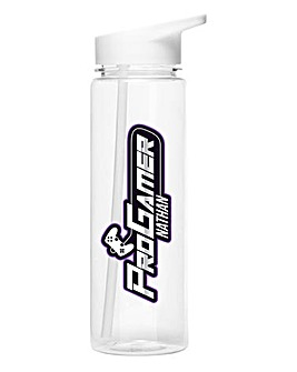 Personalised Pro Gamer Water Bottle