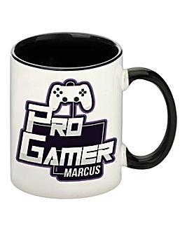 Personalised Pro Gamer Mug