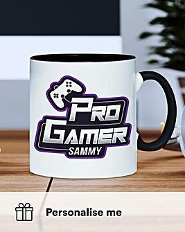 Personalised Pro Gamer Mug