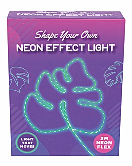 Shape Your Own Neon Effect Light Green