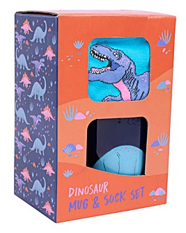 Dinosaur Mug & Sock Set
