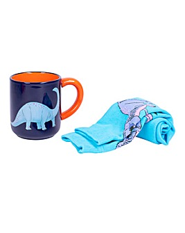 Dinosaur Mug & Sock Set