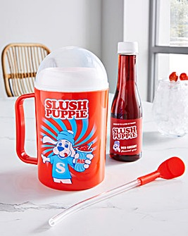 SLUSH PUPPiE Making Cup and Cherry Syrup