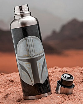 Star Wars Mandalorian Metal Water Bottle
