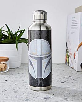 Star Wars Mandalorian Metal Water Bottle