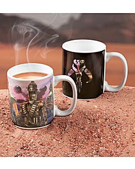 Star Wars Mandalorian Heat Change Mug