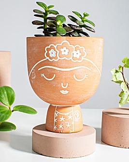 Sass & Belle Terracotta Frida Planter