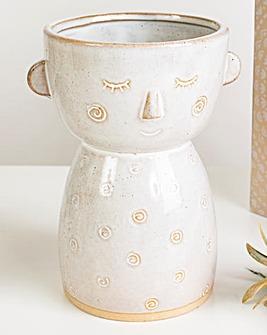 Sass & Belle Face Vase