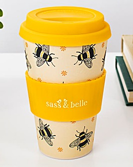 Sass & Belle Busy Bees Bamboo Coffee Cup