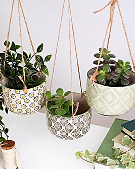 Sass & Belle Ria Hanging Planters