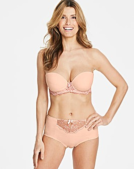 Ella Lace Blush Moulded Pad Multiway Bra