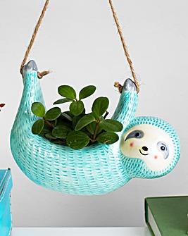 Sass & Belle Sloth Hanging Planter