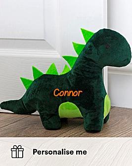 Personalised Dinosaur Doorstop