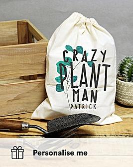 Personalised Crazy Plant Garden Tool Set