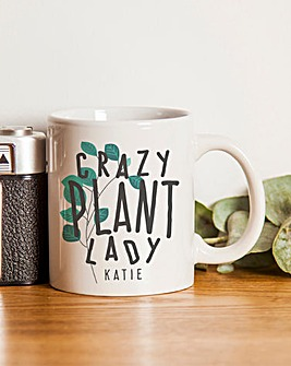 Personalised Crazy Plant Man/Lady Mug