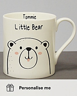 Personalised Little Bear Mug