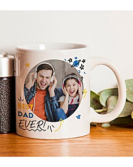 Personalised Best Ever Photo Upload Mug