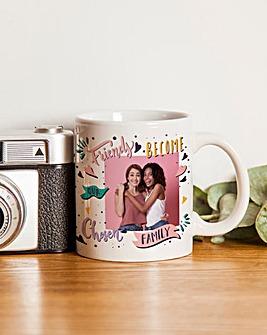 Personalised Friends Photo Mug