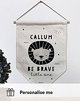 Be Brave Personalised Banner