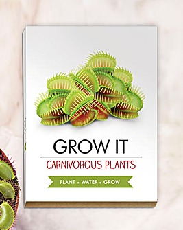 Carnivorous Plants Grow It