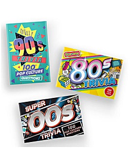 Set of 3 Super 00s Trivia Games