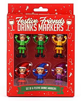 Festive Drink Markers