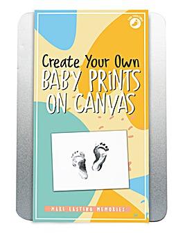 Baby Prints on Canvas