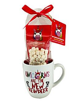 Unicorn Hot Chocolate Mug