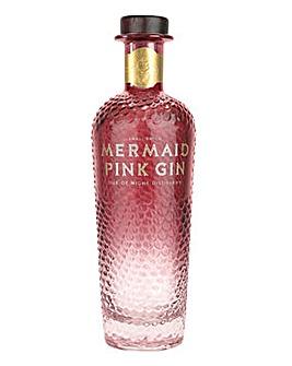 Isle of Wight Mermaid Pink Gin 70cl