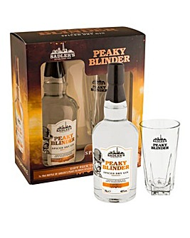 Peaky Blinder Gin with Glass Gift Pack