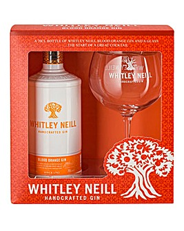 Whitley Neill Blood Orange Gift Set 70cl